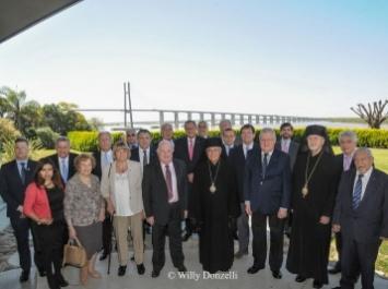 El Cuerpo Consular de Rosario recibió a Su Eminencia Reverendísima Beatitud Joseph Absi Patriarca de Antioquia y de Todo Oriente de los católicos greco melquitas