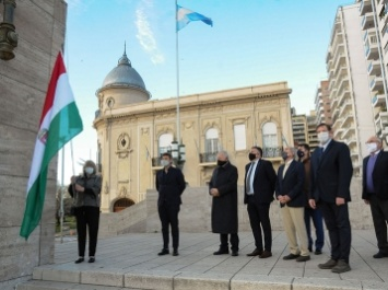 20 de agosto se celebro Fiesta Nacional de Hungría SAN ESTEBAN